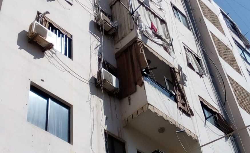 سقوط عاملة إثيوبية من مبنى سكني في صيدا