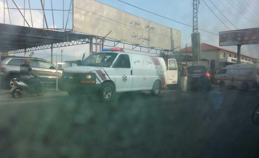 قتيل في حادث سير على طريق عام البرغلية صور