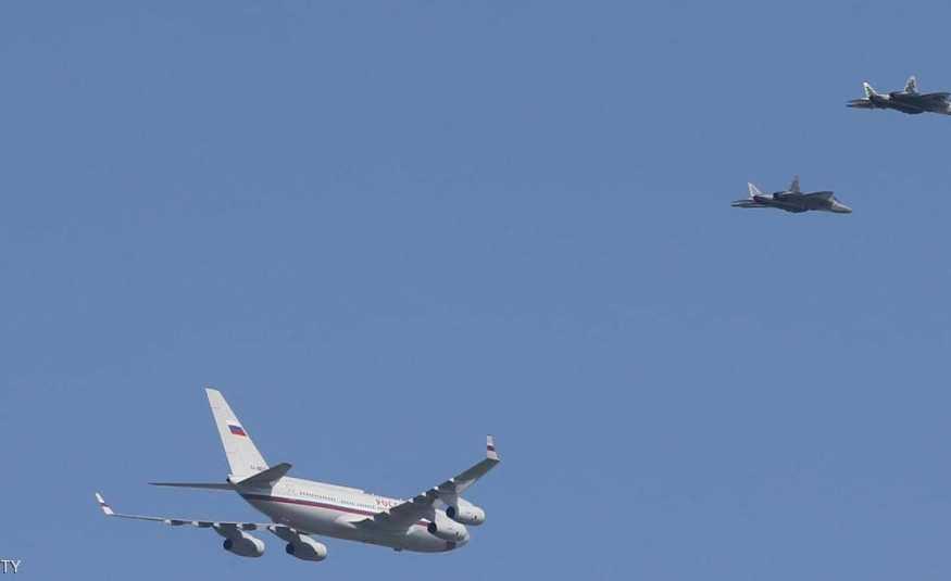 مواجهة جوية بالمقاتلات الحربية.. دفاعاً عن وزير الدفاع الروسي