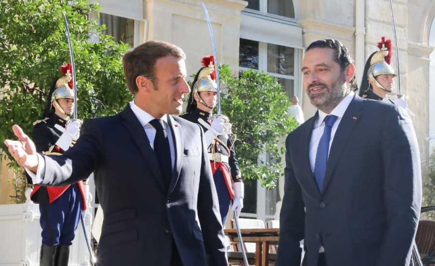 لقاءات الحريري الباريسية
