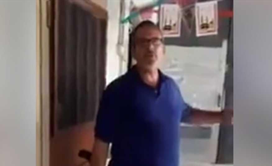 بالفيديو.. مواطن يطلق النار على شخصين ويهدّد بتفجير قنبلة