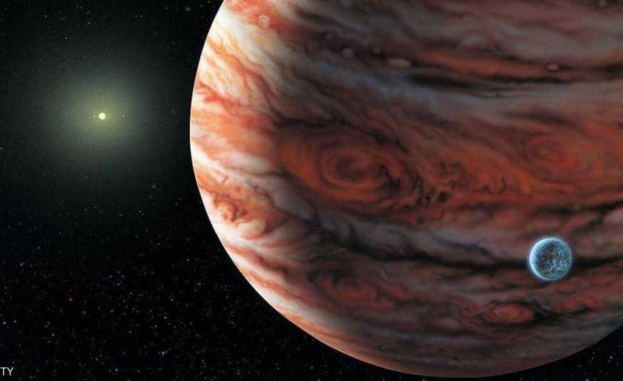 باحثون: كوكب ضخم ربما ارتطم بالمشتري