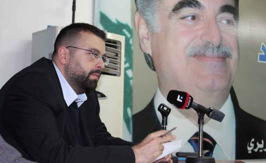 أحمد الحريري يرفض اعتداء عنصر أمني على سيدة في تربل