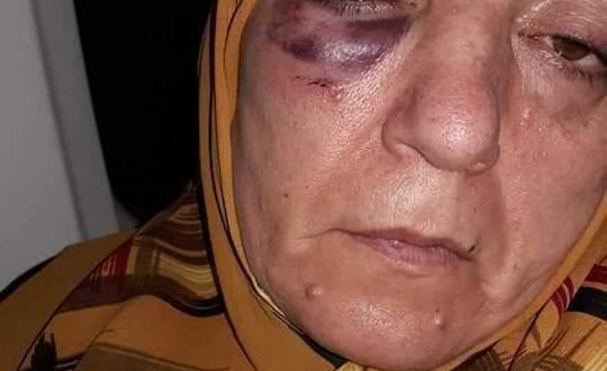 ضابط إيراني يضرب إمرأة.. ومواقع التواصل تشتعل