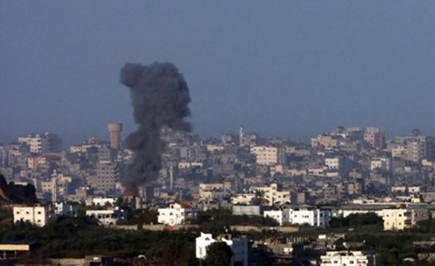 العدو الإسرائيلي يقصف موقعا عسكريا للمقاومة في غزة