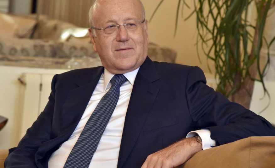 ميقاتي: حرية الصحافة أساس لبنان
