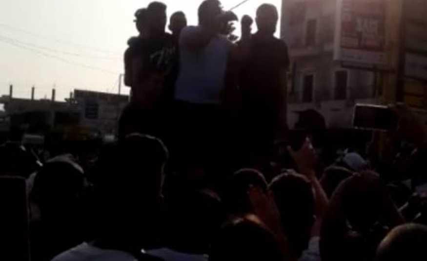بالفيديو..عثمان علم الدين وسط المعتصمين: الحريري أبلغني بإيقاف المطمر