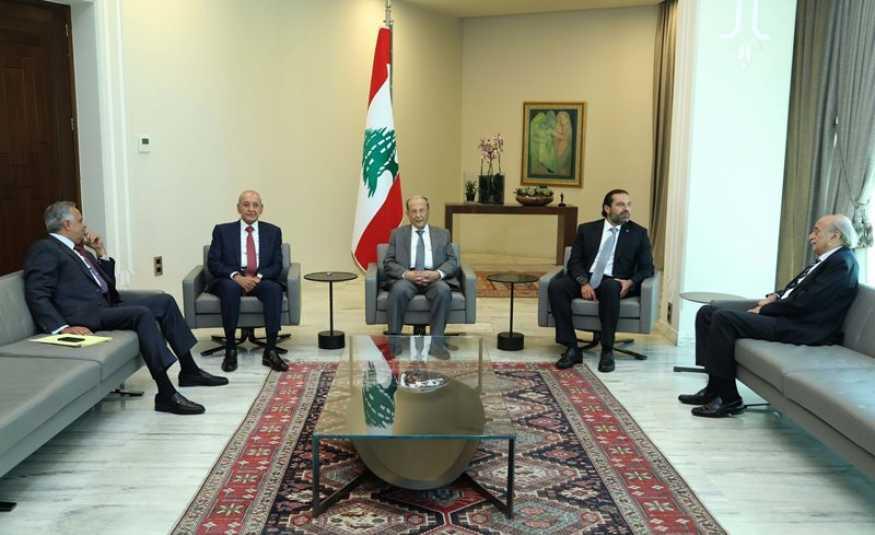 الحريري بعد مصالحة بعبدا: جلسة لمجلس الوزراء السبت