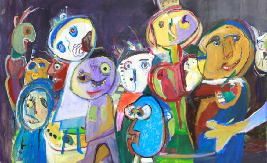 معرض للفنانة أبو شقرا في