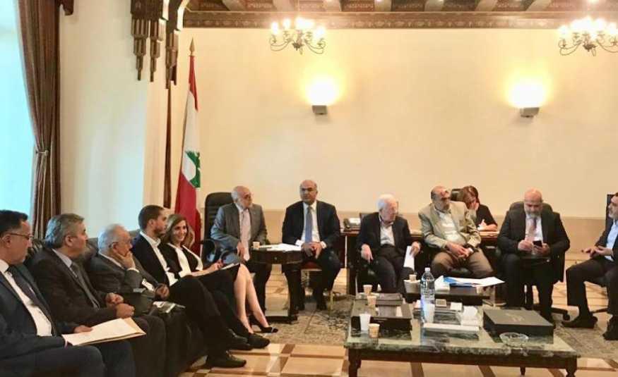 بحث مشاريع إنمائية وحيوية لطرابلس.. في السراي