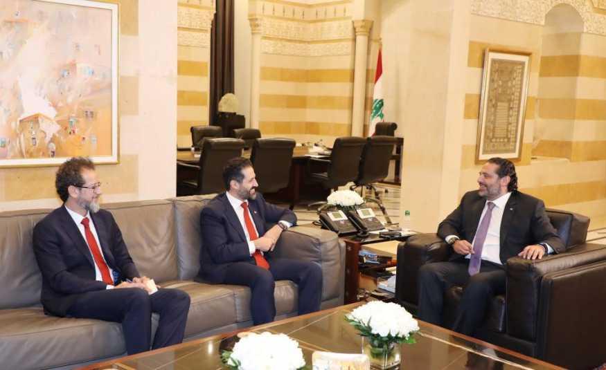 الحريري استقبل نائب رئيس حكومة كردستان والهيئات الاقتصادية.. شقير: لدينا ثقة بالحكومة للخروج من الأزمة