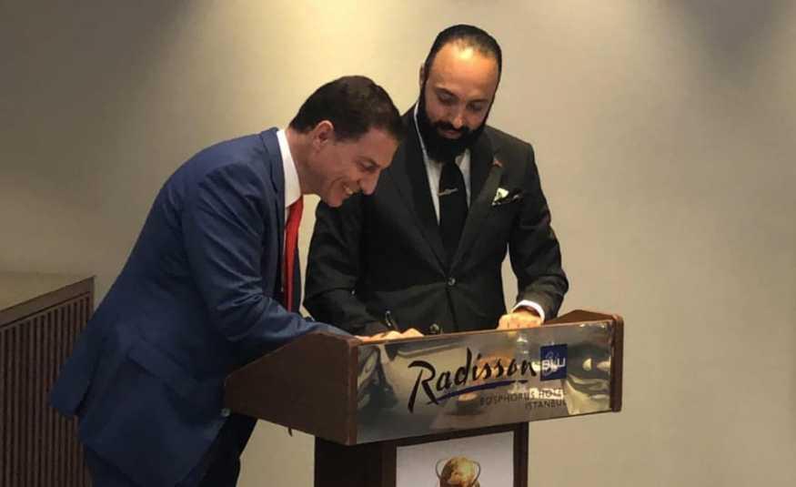 سامر صقر رئيسا لمكتب إسطنبول للاتحاد اللبناني الدولي لرجال الاعمال
