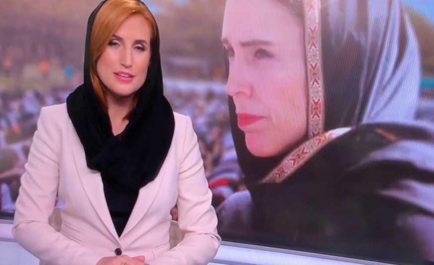 بالصور.. مذيعات نيوزيلندا يتحجّبن تضامناً مع المسلمين