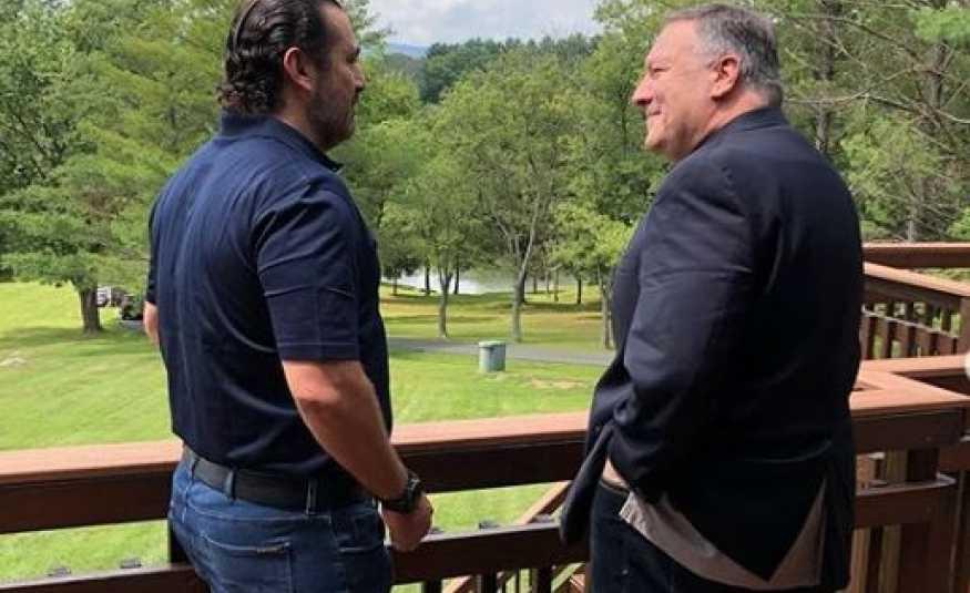 الحريري يستضيف بومبيو في مزرعته خارح واشنطن