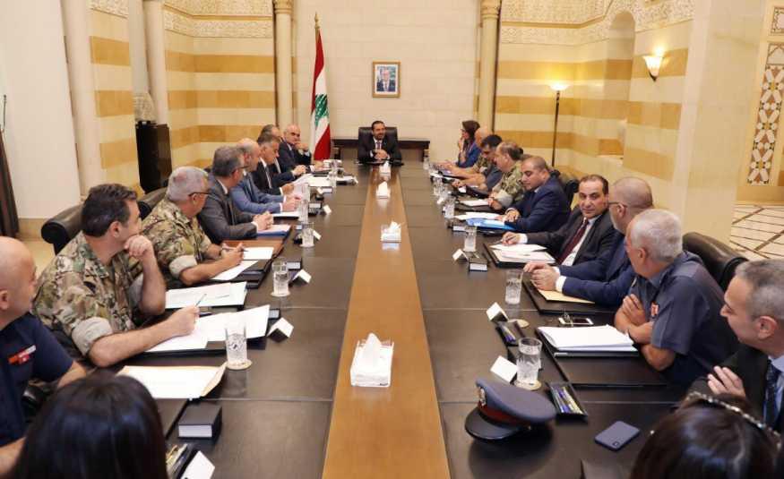 الحريري ترأس اجتماعاً أمنياً لمناقشة التهريب الحدودي