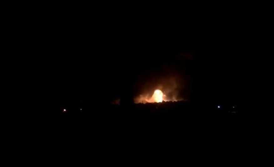 بالفيديو: انفجارات تهز مستودع ذخيرة بقبرص