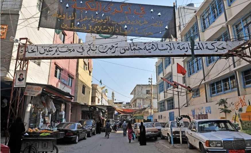 إضراب عام في عين الحلوة رفضاً لقرار أبو سليمان