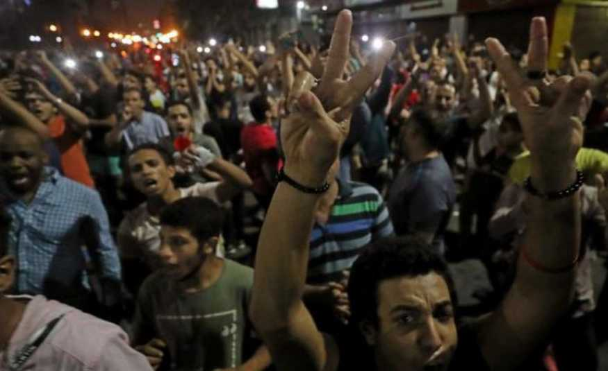 تظاهرات مناهضة للسيسي في السويس