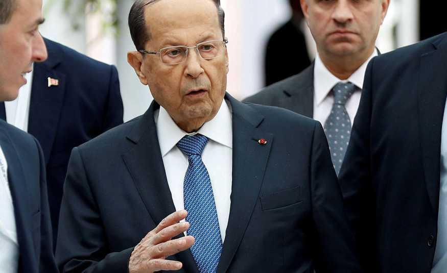 عون يتابع وقائع جلسة التصويت: ما حصل بمثابة دفع اضافي للبنان